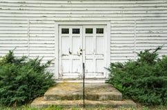 Front Door bloqueado de una puerta de la iglesia Imagen de archivo