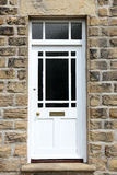 Front Door branco Foto de Stock