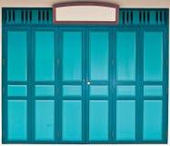 Front Door. In classic style Stock Photos