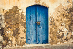 Front Door da casa velha Foto de Stock