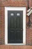 Front Door de una casa en Portsmouth NH imagenes de archivo