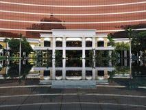Front Door de Wynn Casino em Macau China imagem de stock royalty free