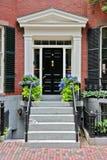 Front door entryway Royalty Free Stock Photos