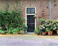 Front door, Europe Stock Photo