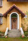 Front door of Europe Style Royalty Free Stock Photo