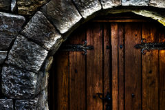 Front door, fragment Royalty Free Stock Photo
