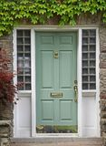 Front door with ivy Royalty Free Stock Photos