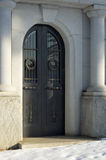 Front door of a mausoleum Royalty Free Stock Images