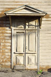 The front door of the old house Stock Photography