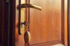 Front Door Open imagem de stock