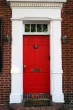 A front door Royalty Free Stock Image