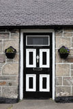 Front door, Scotland Royalty Free Stock Photo