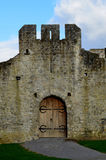 Front Door To Desmond Castle in County Limerick Ireland Stock Photos