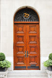 Front door to a house Stock Photography