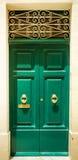 Front door to house Stock Photos