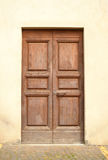 Front door in Tuscany Stock Images