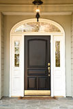 Front Door of Upscale Home royalty free stock image