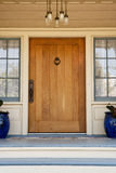 Front Door of an Upscale Home Royalty Free Stock Photo