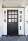 Front door of an upscale home Stock Photo