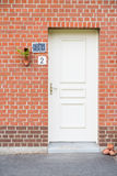 Front door Royalty Free Stock Images