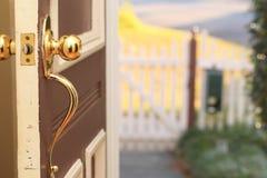 Front Door stock photography