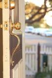 Front Door stock image