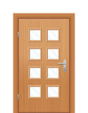 Front Door Vision Panels Stock Images