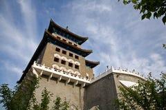 The front door ZhengYangMen Stock Photos