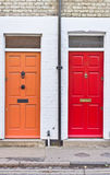 Front doors Royalty Free Stock Images