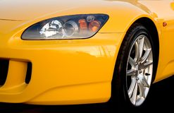 Front End. Front fender of a sportscar Stock Photography