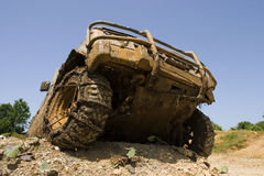 Front end of  all-terrain vehicle Royalty Free Stock Images
