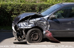 Front End Car Crash Stock Images