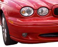 Front end Isolated Stock Photo