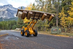 Front End Loader immagini stock