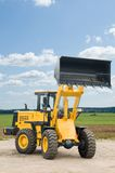 Front end loader machine Royalty Free Stock Image