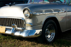 Front end of old timer car. From cuba Royalty Free Stock Images