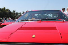 Front end red Ferrari Royalty Free Stock Photo