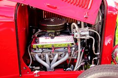 Front engine of horseless carriage Royalty Free Stock Images