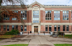 Front entrance, Kidder Hall, Oregon State University, Corvallis, Stock Image