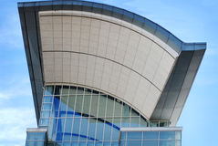 Front entrance of McCormick Place in downtown Chicago, Illinois. Royalty Free Stock Images