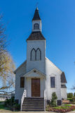 Front Entrance of Milner Chapel in Langley British Columbia Stock Photography