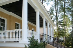 Front entrance porch royalty free stock images