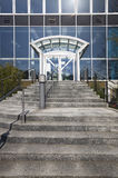 Front entrance and steps Royalty Free Stock Photography