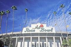 Front entrance to the Rose Bowl in Pasadena, Pasadena, California Royalty Free Stock Images