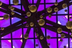 Front Entry Plaza av den Kalifornien vetenskapsmitten i Los Angeles Royaltyfri Foto