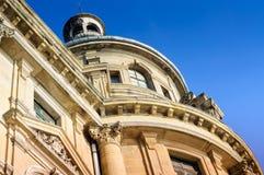 Front Facade Detail Of A Historical Building Stock Photos