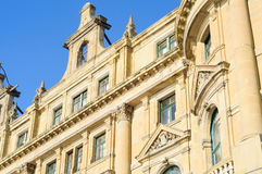 Front Facade Detail Of A Historical Building Royalty Free Stock Photos