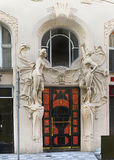 Front Facade, edificio porta de la entrada Fotografía de archivo