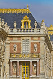 Front facade of Famous palace Versailles Royalty Free Stock Photos