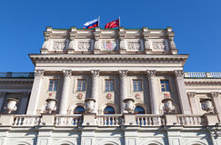 Front facade Mariinsky Palace Stock Photo